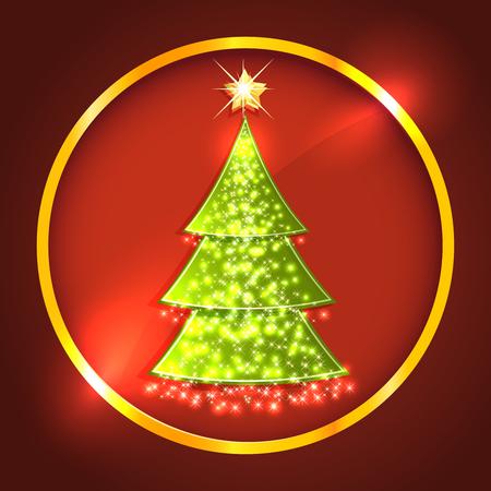 xmas decoration: Christmas tree