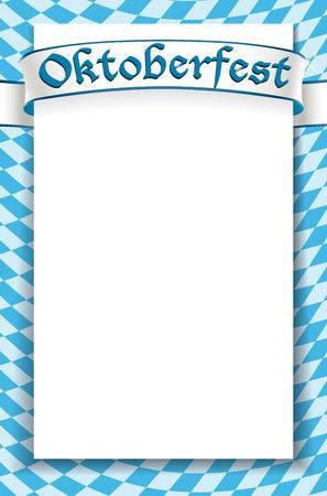 Oktoberfest celebration design background Stock Vector - 22680882