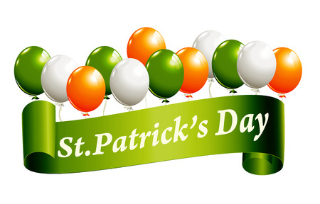 St.Patricks Day banner Vector