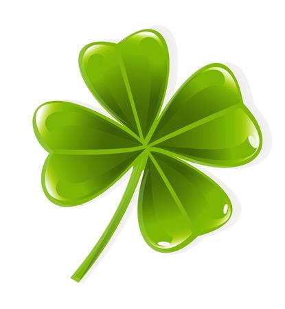 st patric: Clover leaf