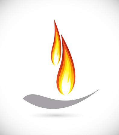 Fire icon 向量圖像