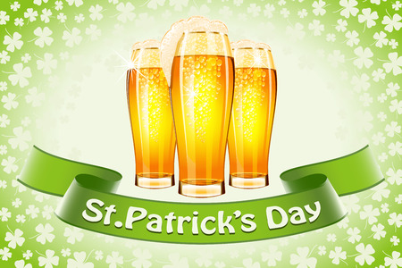 Saint Patrick's Day banner Stock Vector - 26160113