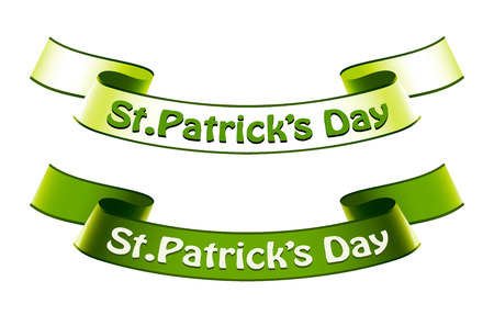 St.Patricks Day banners Vector