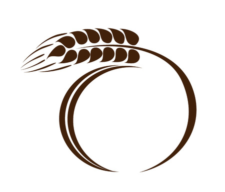 Wheat ear icon Vector