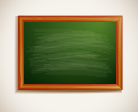 high school teacher: Blackboard, back to school background Illustration