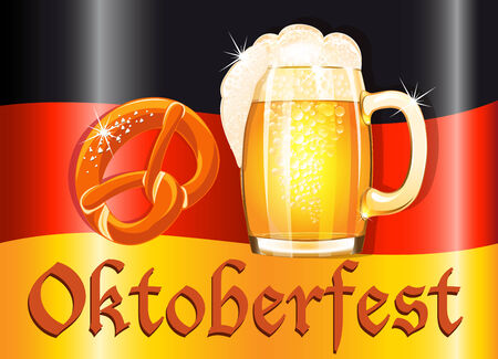 bretzel: Oktoberfest celebration design