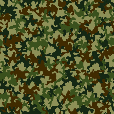 defensive: Seamless camouflage pattern