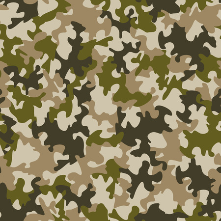 camouflage pattern: Seamless camouflage pattern