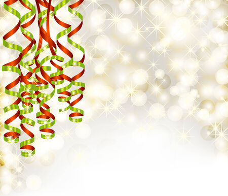 serpentine: Background with lights and serpentine Illustration