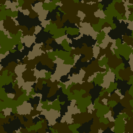 camouflage clothing: Seamless camouflage pattern