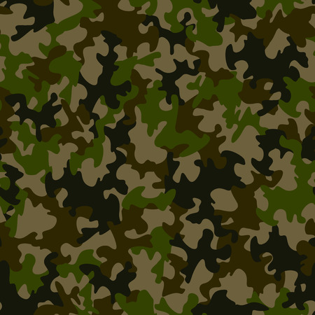 camouflage: Seamless camouflage pattern