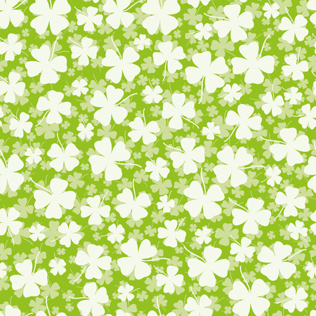 Seamless clover background Stok Fotoğraf - 37393729