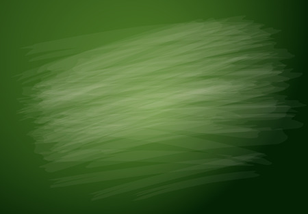 supplies: Green chalkboard background Illustration