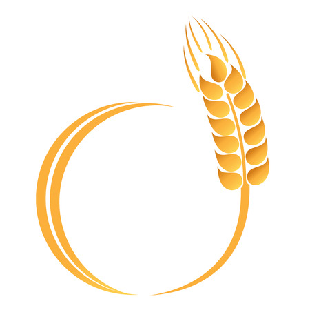 Wheat ears icon Stok Fotoğraf - 57880645