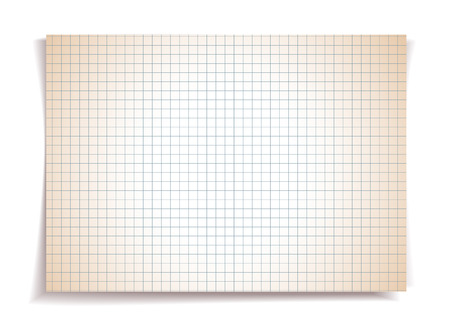 Sepia squared notebook paper