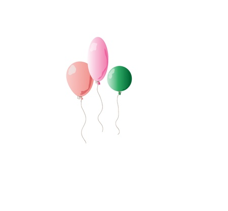 inflate: Balloons  Illustration
