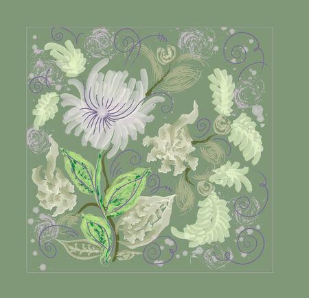 prerequisite: Abstract - background  Floral arrangement