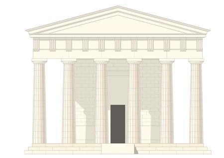 국회 의사당: 신전