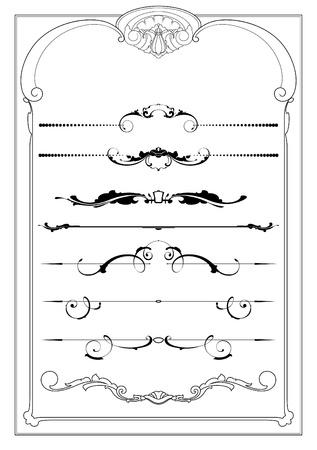 set of design element Vector