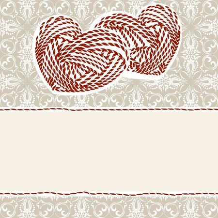 corazon: valentine card