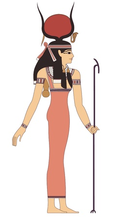 alten Ägypten Kunst Illustration