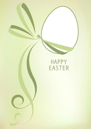 Biglietto di auguri di Pasqua Archivio Fotografico - 12403908