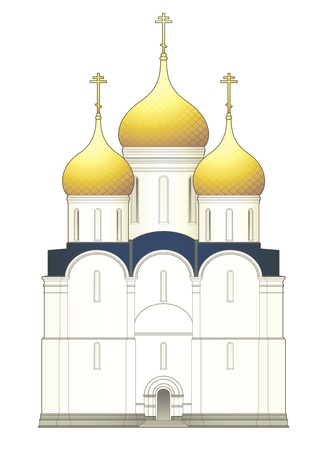 kopule: Ruská církev Ilustrace