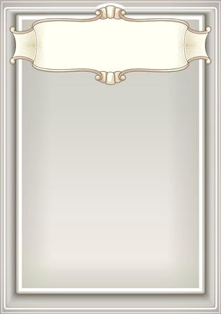 FANCY BORDER: background Illustration