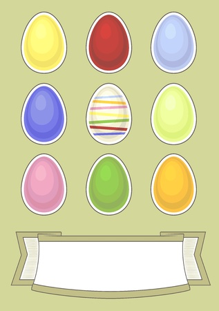 easter card Stock Vector - 12403895