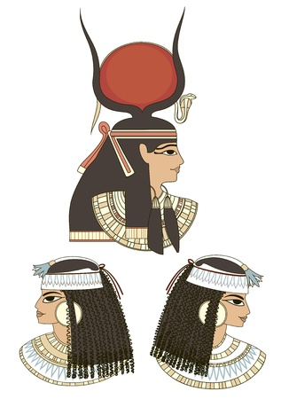 ancient egypt art Vector