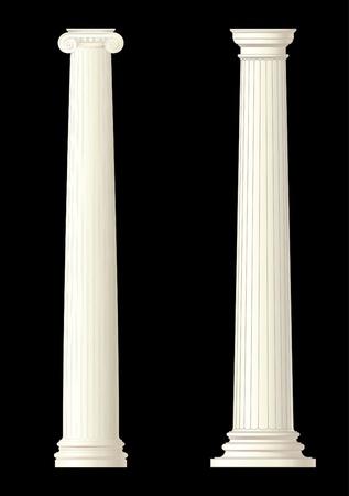 márvány: klasszikus oszlop