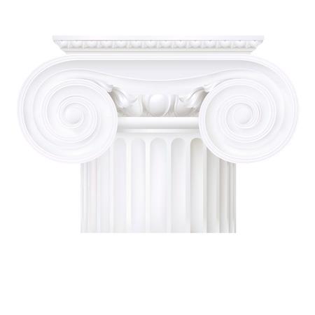 hellenistic: ionic capital Illustration