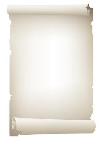 old paper banner , vector drawing Zdjęcie Seryjne - 28460482