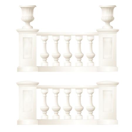 balustrade,vector drawing