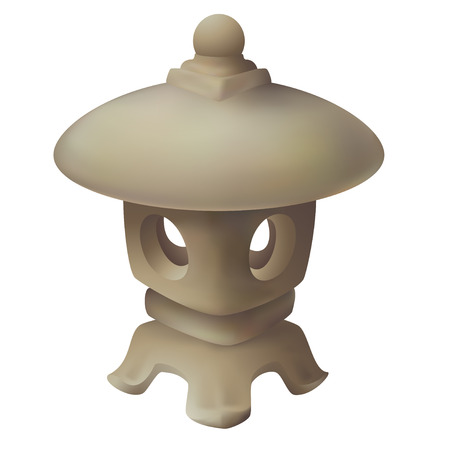 asian gardening: Japanese Lantern