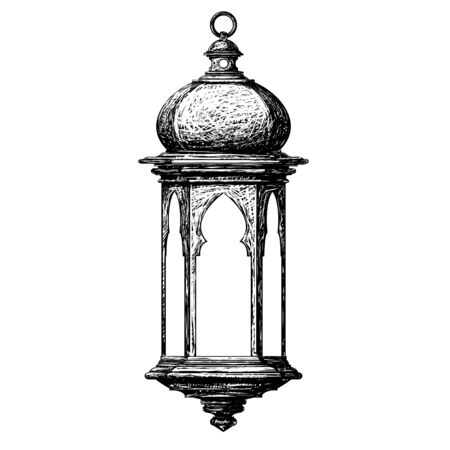 ramadan lantern Ilustração