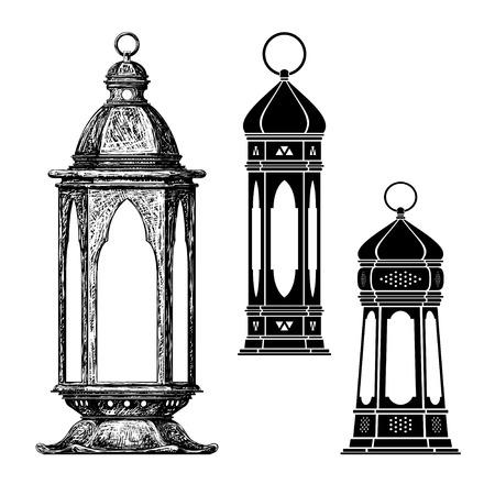 ramadan lantern Ilustracja