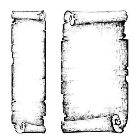 scroll Ilustracja
