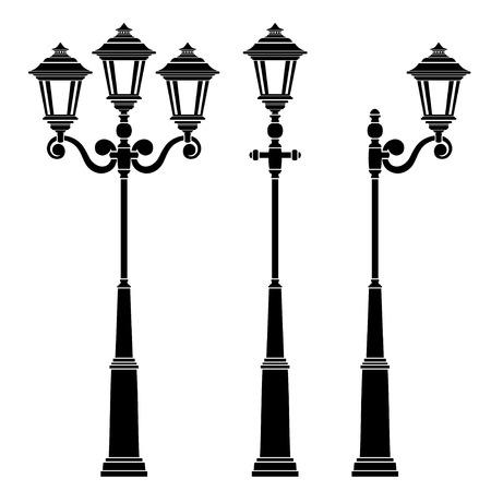 street light Ilustracja