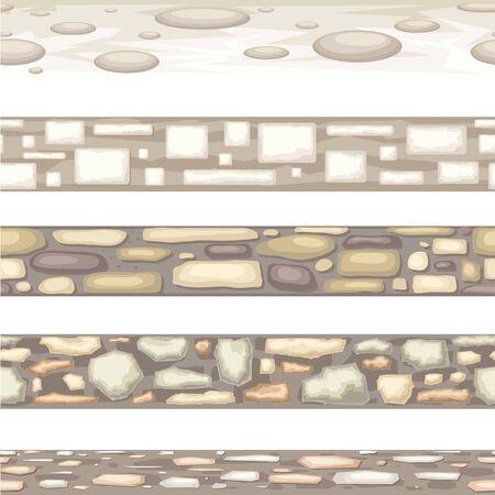 Seamless stone texture.Pebbles , sandstone wall , cobblestone