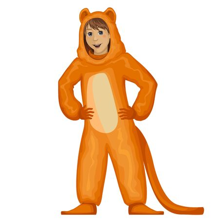 Costume party.Kids in carnaval costume.Masquerade.Funny characters.Lion.