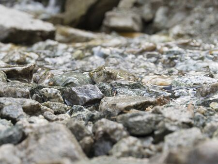 Beautiful texture of stone under water. Natural background of wet stone. Nature. Stock fotó