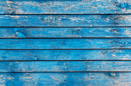 The blue wood texture with natural patterns. Imagens