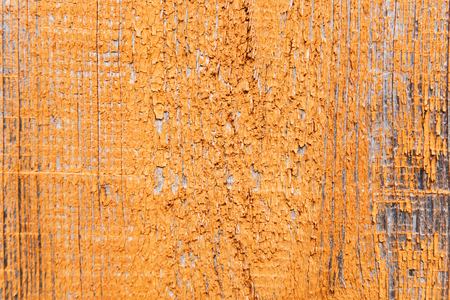 The orange or yellow wood texture with natural patterns. Stock Photo