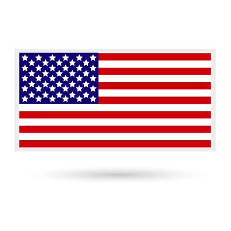 american history: American Flag. Flag of the United States of America.