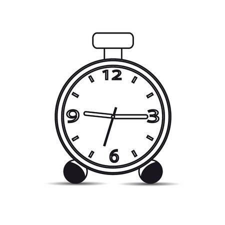 Icon watch on a white background