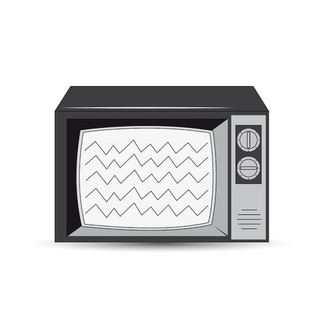 information medium: Old style television icon