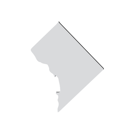 district of columbia: Map of the U.S. District of Columbia