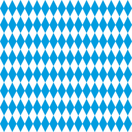 Background blue diamonds Oktoberfest