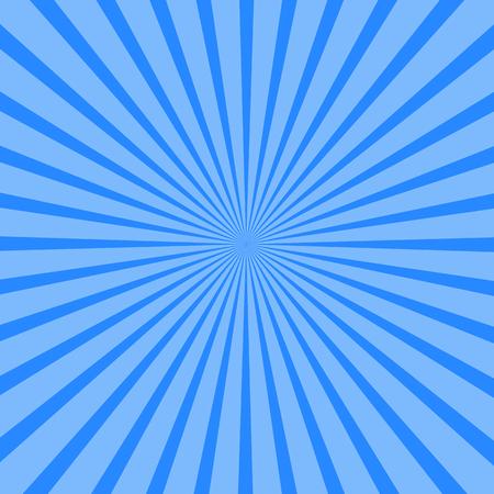 Background of blue rays. Vector illustration for your design Ilustração